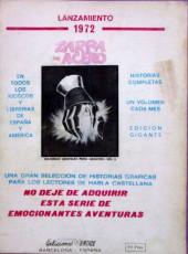 Verso de Mytek el poderoso (Vértice - 1971) -3- (sans titre)