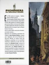 Verso de Les pionniers du Nouveau Monde -6b2000- La mort du loup