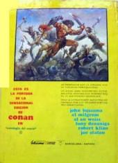 Verso de Antología del cómic (Vértice - 1977) -2- Mundos desconocidos