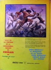 Verso de Antología del cómic (Vértice - 1977) -3- Conan el bárbaro