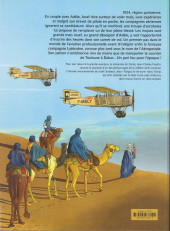 Verso de L'aviateur -3- Les courriers du désert
