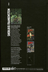 Verso de Black Hammer -HS1- Sherlock Frankenstein & la Ligue du Mal