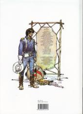 Verso de Blueberry -21a96- La dernière carte