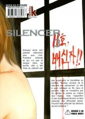 Verso de Silencer -3- Vol. 03