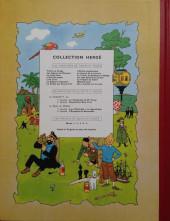 Verso de Tintin (Historique) -17B14- On a marché sur la Lune