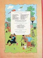 Verso de Tintin (Historique) -18B32- L'affaire Tournesol