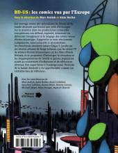 Verso de (DOC) Études et essais divers - BD-US : Les comics vus par l'Europe