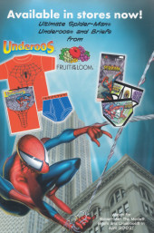 Verso de Ultimate Marvel Team-up (2001) -10- Spider-Man & the Man-Thing