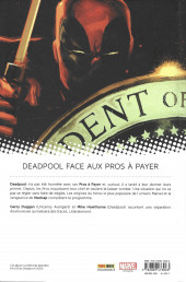 Verso de All-New Deadpool (Marvel Now!) -4- Civil War 2