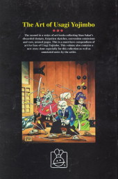 Verso de Usagi Yojimbo (The Art of) (1997) -2- The Art of Usagi Yojimbo #2