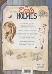 Verso de Les enquêtes d'Enola Holmes -1FL- La double disparition