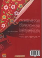 Verso de Le théâtre des fleurs -1- Tome 1