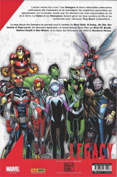 Verso de Marvel Legacy - Avengers (Marvel France - 2018) -4TL- Jusqu'a la mort (II)