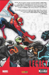Verso de Marvel Legacy - Spider-Man (Marvel France - 2018) -4- Venon INC (2)