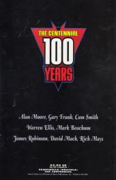 Verso de Vampirella/Dracula: The Centennial (1997) - Vampirella/ Dracula: The Centennial