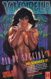 Verso de Vampirella Classic (1995) -4- The Resurrection Of Papa Voudou!