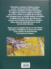 Verso de Mœbius œuvres - Chroniques métalliques - Chaos