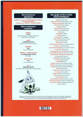 Verso de (Recueil) Spirou (Album du journal) -352- Spirou album du journal