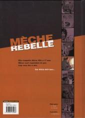 Verso de Mèche rebelle -2- Alicia