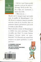 Verso de (AUT) Mazan - Les mange mémoire