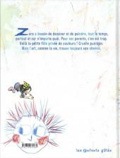 Verso de Le secret de Zara - Le Secret de Zara