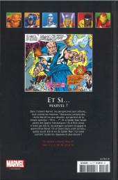 Verso de Marvel Comics - La collection (Hachette) -119XXXVI- Et Si... Marvel?