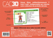 Verso de (DOC) CAC3D -12- CAC3D - édition 2018 - Pop-Culture