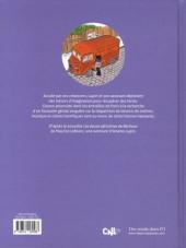 Verso de Arsène Lupin (Une aventure de) -1- Cash-cash à Paname