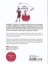 Verso de La marmite-o-langues - Le glaive de burdigala