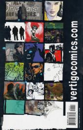 Verso de Vertigo X (2003) - Vertigo X Anniversary Preview