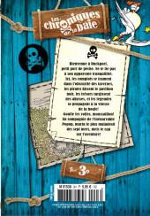 Verso de Mickey Parade Géant Hors-série / collector -HS19- Les Chroniques de la baie - Tome 3 : Les Légendes des 7 mers
