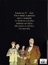 Verso de Alister Kayne Chasseur de Fantômes -1- De mémoire d'homme