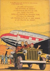 Verso de Buck Danny -9- Les gangsters du pétrole