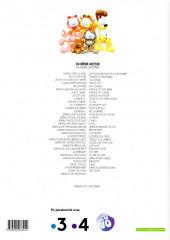 Verso de Garfield -54Eté- Le dindon de la farce
