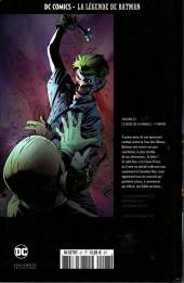 Verso de DC Comics - La légende de Batman -2764- Le deuil de la famille - 1re partie