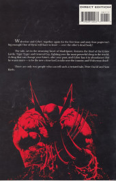 Verso de Wolverine: Blood Hungry - Tome INT