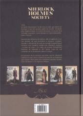 Verso de Sherlock Holmes Society -5- Les Péchés du fils
