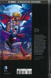 Verso de DC Comics - Le Meilleur des Super-Héros -80- Harley Quinn - Folle à Lier