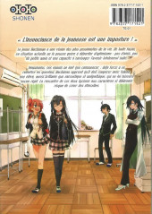 Verso de My Teen Romantic Comedy is wrong as I expected -1- tome 1