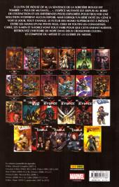 Verso de X-Men - Trilogie du Messie -INT1- Le Complexe du Messie
