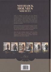 Verso de Sherlock Holmes Society -6- Le Champ des possibles