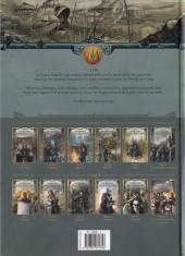 Verso de Les maîtres inquisiteurs -11- Zakariel