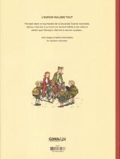 Verso de Spirou et Fantasio (Une aventure de.../Le Spirou de...) -14TL- L'Espoir malgré tout - Première partie - Un mauvais départ