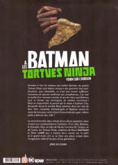 Verso de Batman & les Tortues Ninja -2- Venin sur l'Hudson