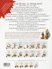 Verso de Le guide -11a99- Le guide de la trentaine