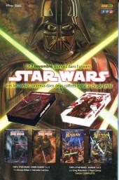 Verso de Star Wars (Panini Comics - 2017) -9VC- Les Ténèbres étouffent la Lumière