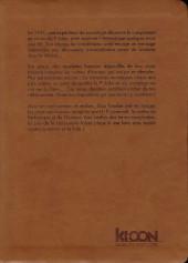 Verso de Les chefs-d'œuvre de Lovecraft -1- Les montagnes hallucinées - Tome 1