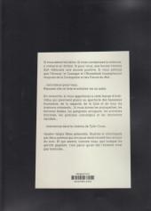 Verso de Tyler Cross -HS- Vintage et Badass, le cinéma de Tyler Cross