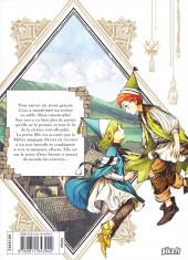 Verso de L'atelier des sorciers -3- Volume 3