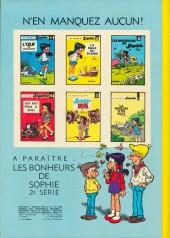 Verso de Sophie (Jidéhem) -7- Sophie et le cube qui parle
